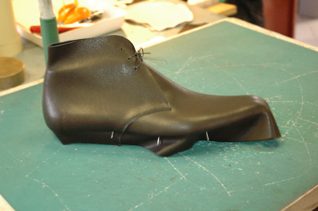 a chukka boot under desing
