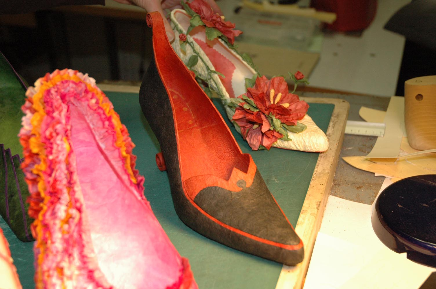 Paper Beauties Shoes Made From Paper Shoes And Craft