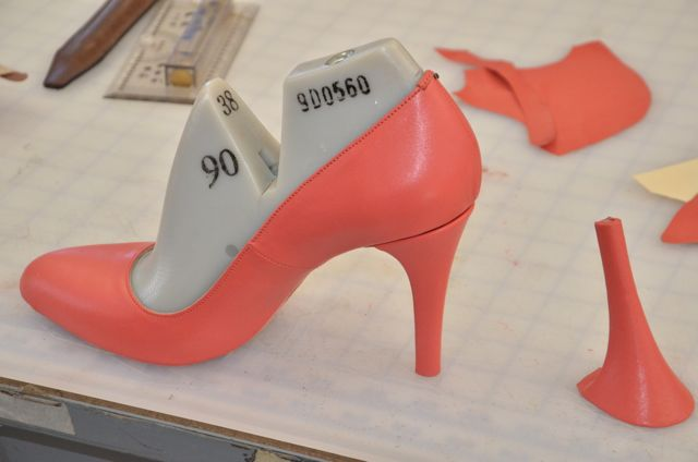 High Heel Shoe Pattern Tutorial