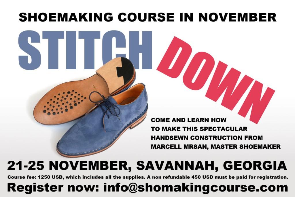 stitchdown course